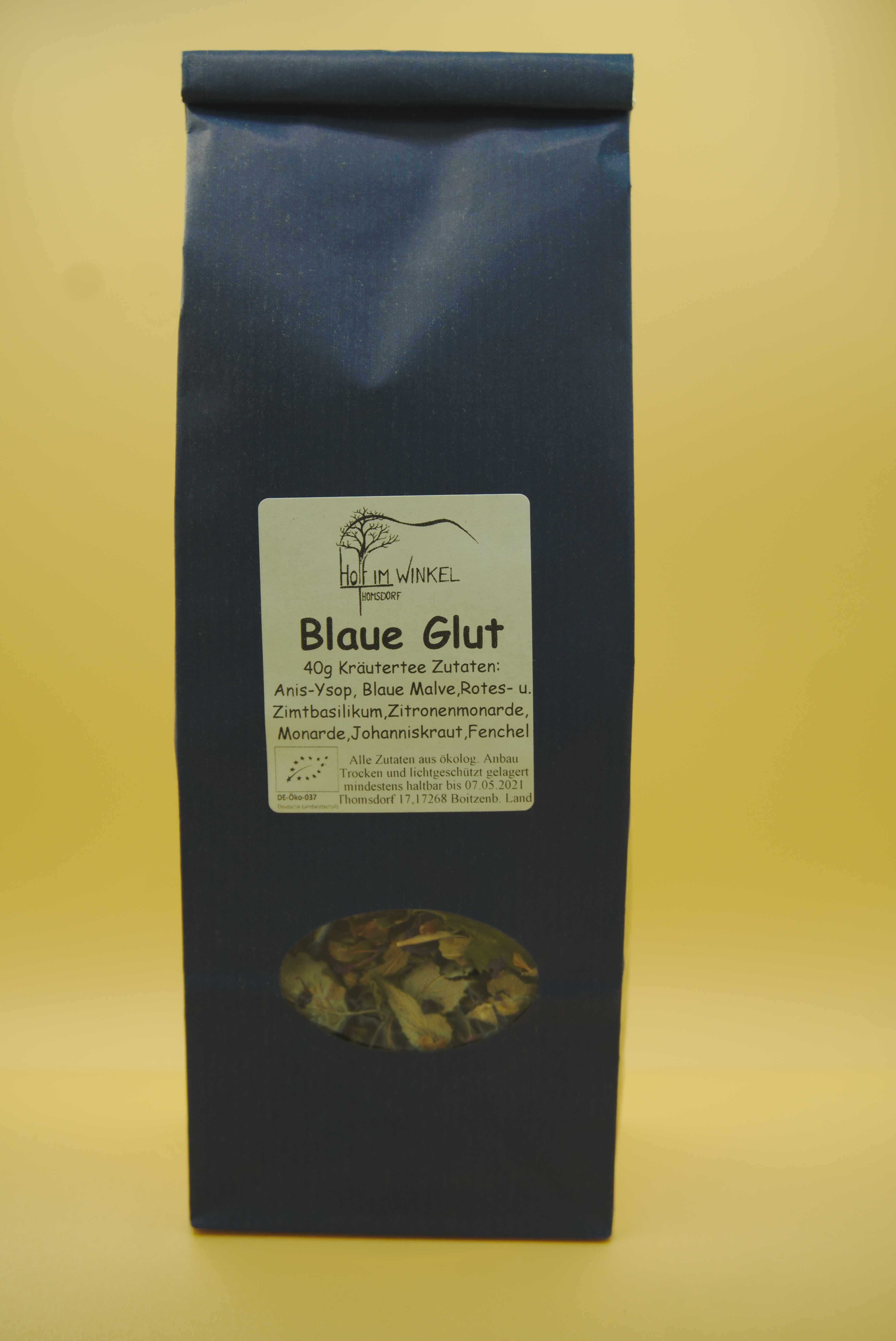 Kräutertee Blaue Glut